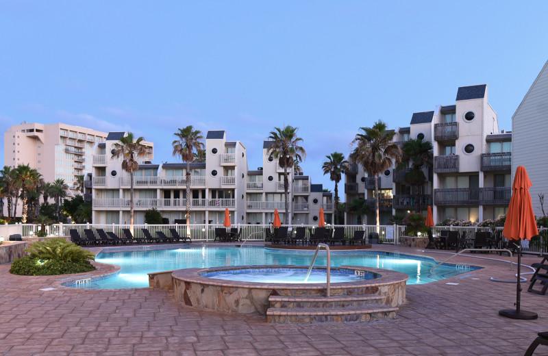 Rental pool at La Isla VR - South Padre.