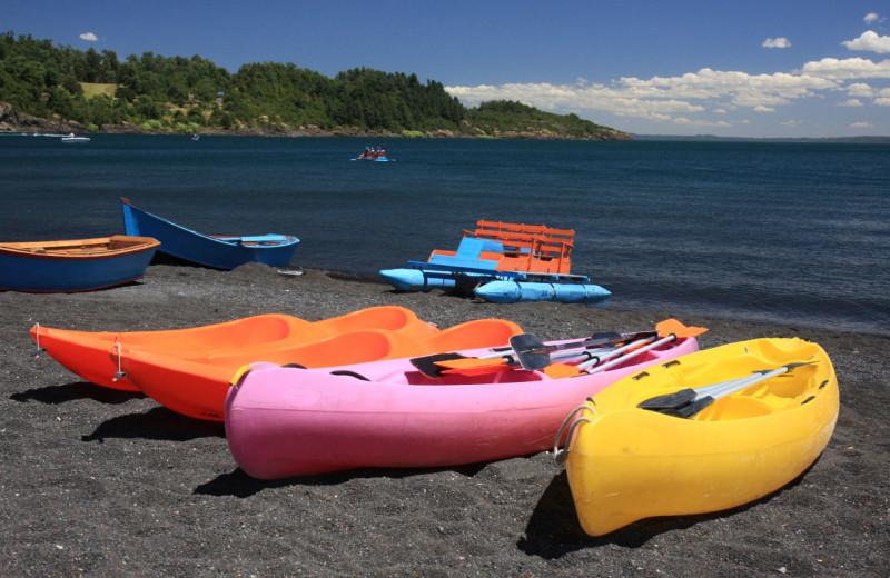 Kayaking at Thousand Hills Golf Resort.
