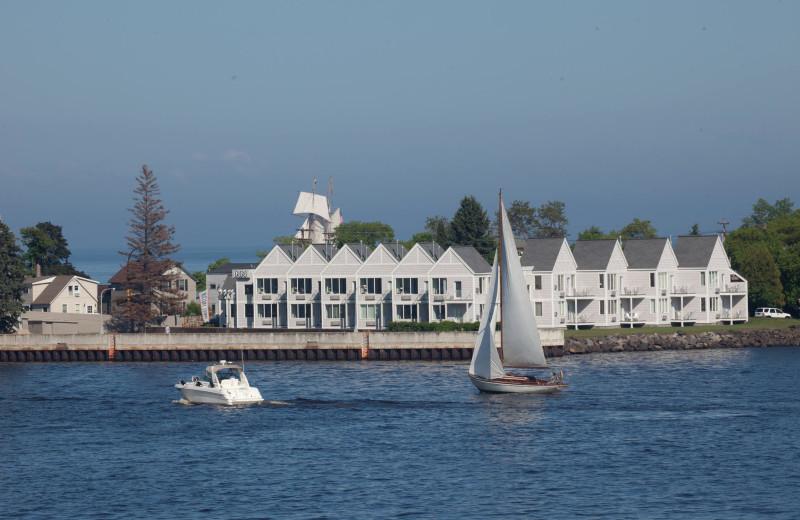 Boating at South Pier Inn.