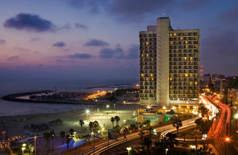 Exterior view of Renaissance Tel Aviv Hotel.