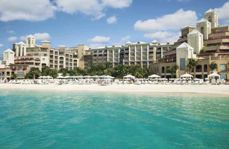Exterior view of Ritz-Carlton Grand Cayman.