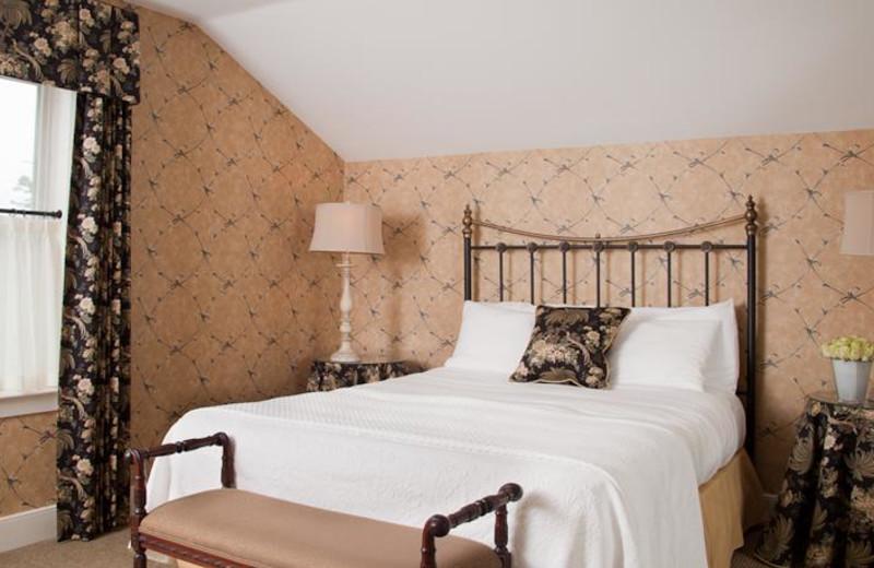 Guest room at Moffat Inn.