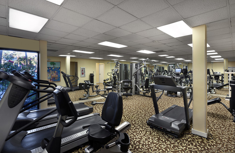 Fitness room at Ocean Reef Resort.