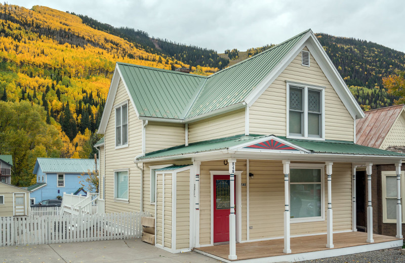 Rental exterior at Accommodations in Telluride.