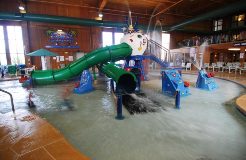 Indoor Waterpark at the Polynesian Waterpark Resort
