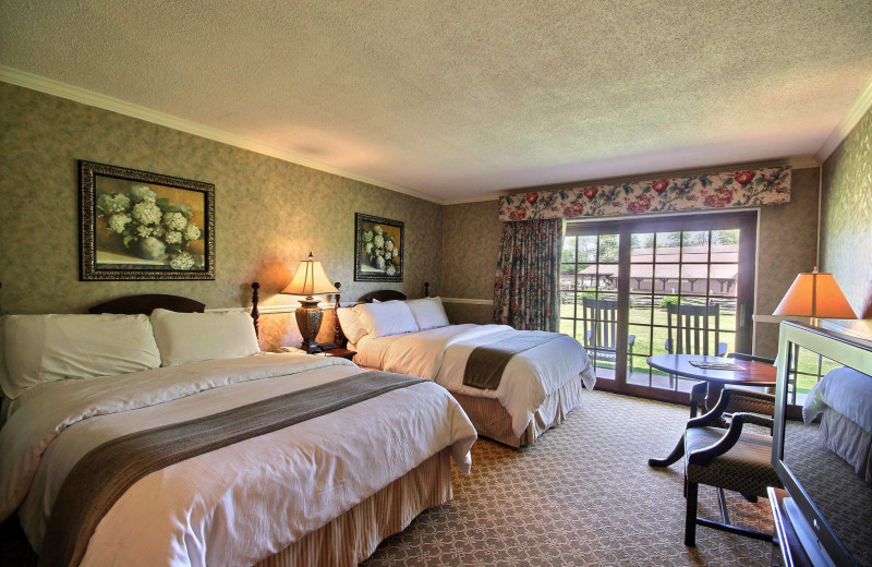 Guest Room At Dillard House.