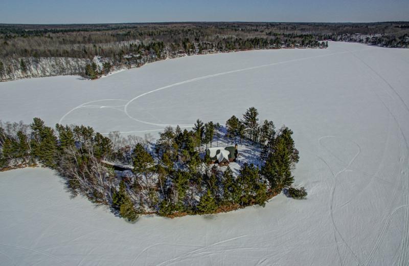 Rental aerial view at Lakeland Rental Management.