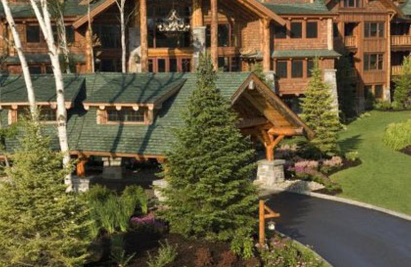 Exterior View of The Whiteface Lodge