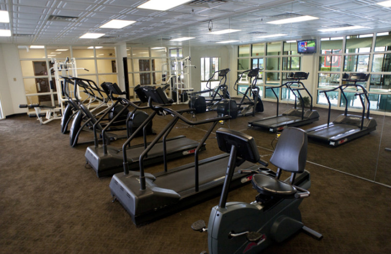 Fitness Room at Lodge of the Ozarks