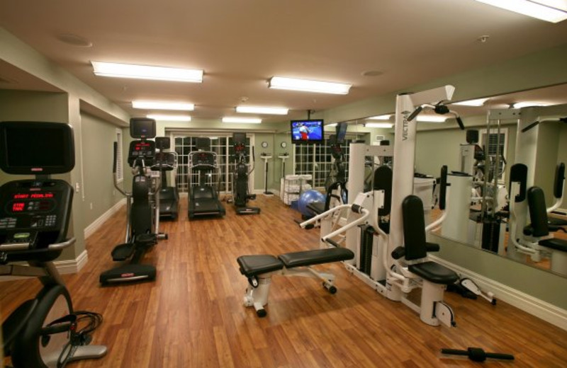 Fitness Room at Harbor Hotel