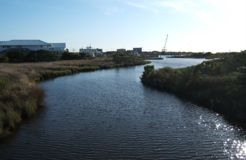 River view at The Villas of Hatteras Landing.