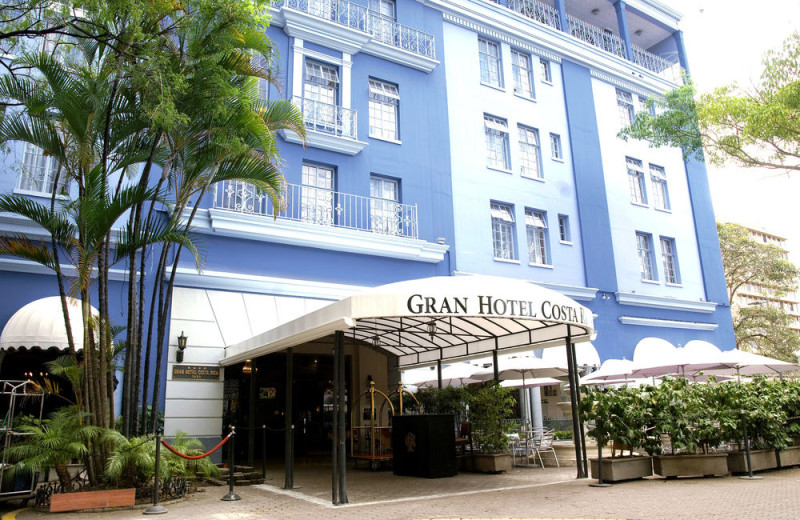 Exterior view of Gran Hotel Costa Rica.