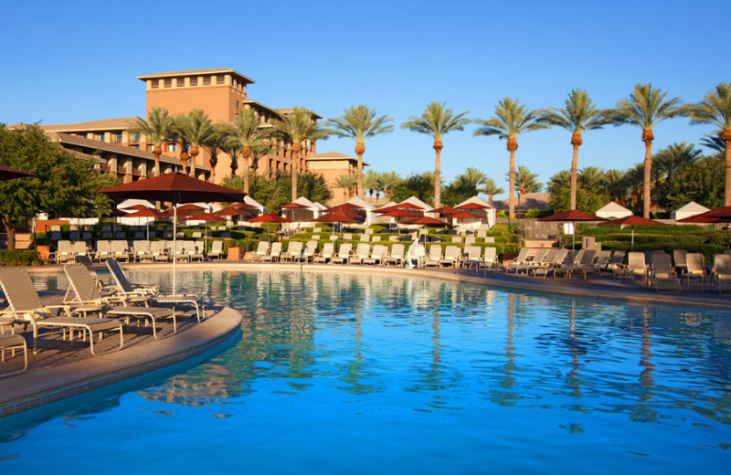 Outdoor pool at The Westin Kierland Resort & Spa.