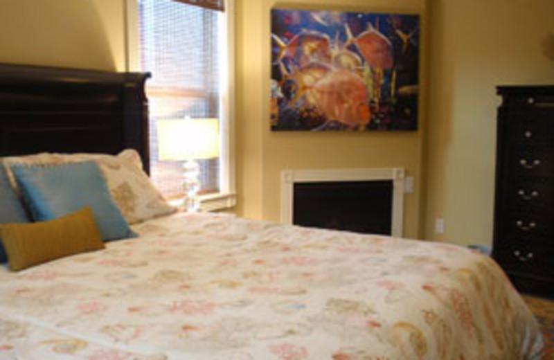 Rental Bedroom at Grey Fox Inc Vacation Rentals