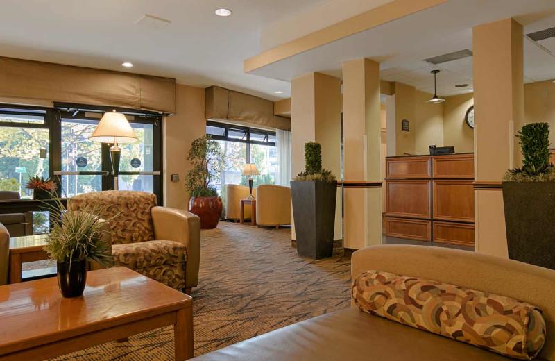 Lobby at The Loyal Inn.