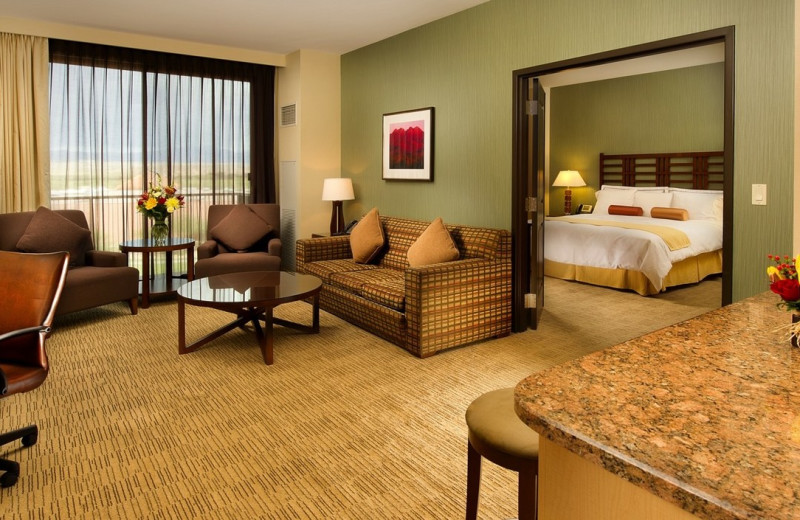 Guest room at We-Ko-Pa Resort and Conference Center.