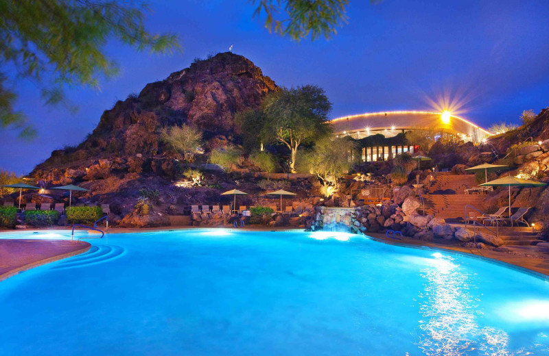 Outdoor pool at The Buttes, A Marriott Resort.