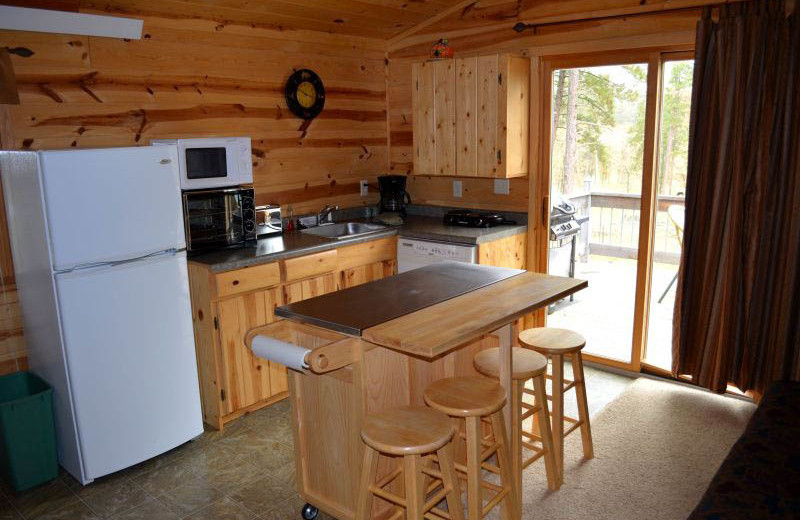Mountain View Suite Kitchen area