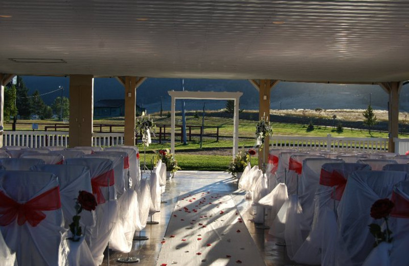 Weddings at Fairmont Hot Springs Resort.