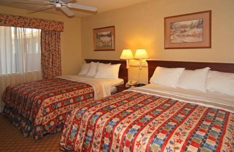 Guest room at Econo Lodge Inn & Suites At Texas Stadium.