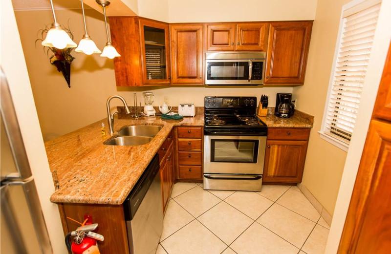 Kitchen at Holiday Isle Properties - Islander 212.