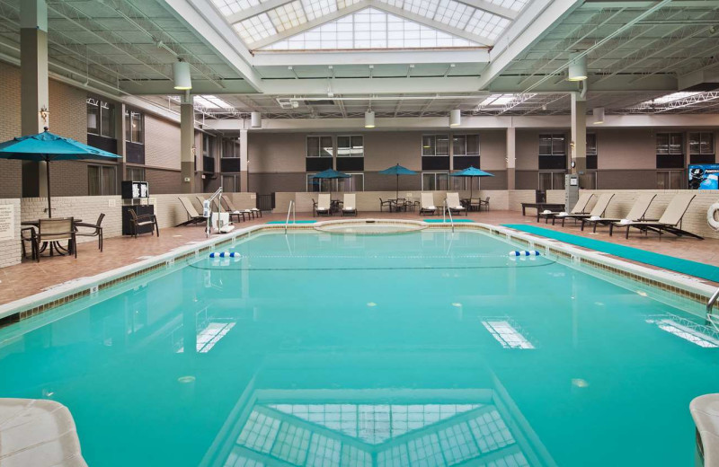 Indoor pool at Best Western Plus Kingston Hotel and Conference Center.