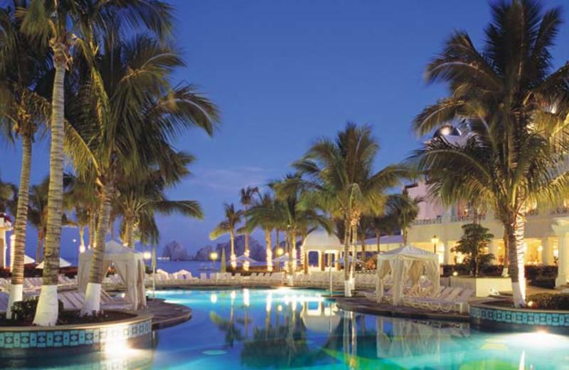 Outdoor pool at Just Gotta Go Resort Rentals.