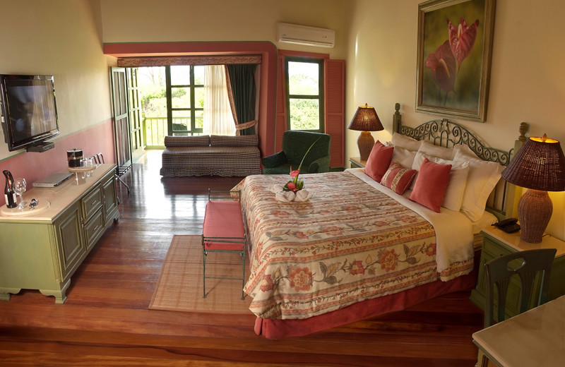 Guest room at Casa Turire.