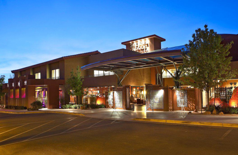 Exterior view of Sedona Rouge Hotel.
