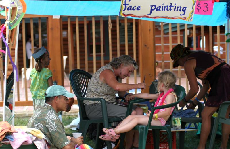 Kids activities at Grand Targhee Resort.
