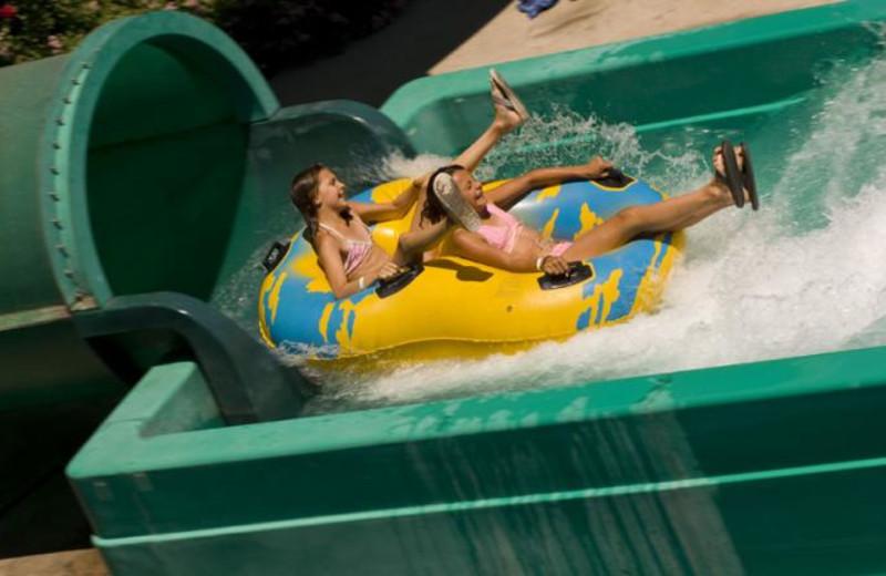 Water slide at Glenwood Hot Springs.