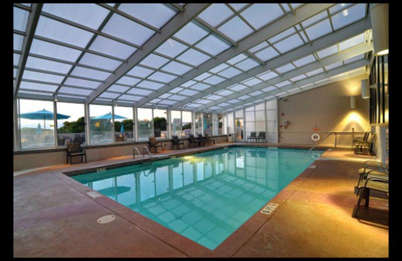 Indoor pool at Shell Island Resort.