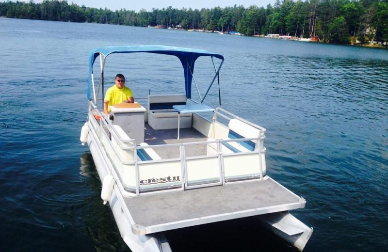 Fishing at Clear Lake Resort.