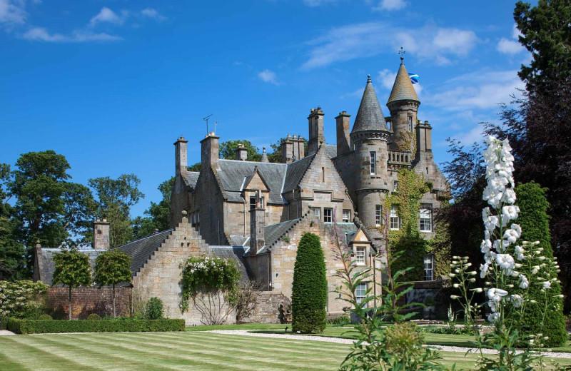 Castle exterior at Luxury Castle Hire.