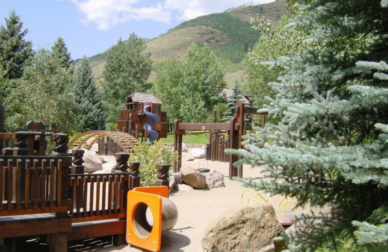 Playground at Sun Vail Condominiums.