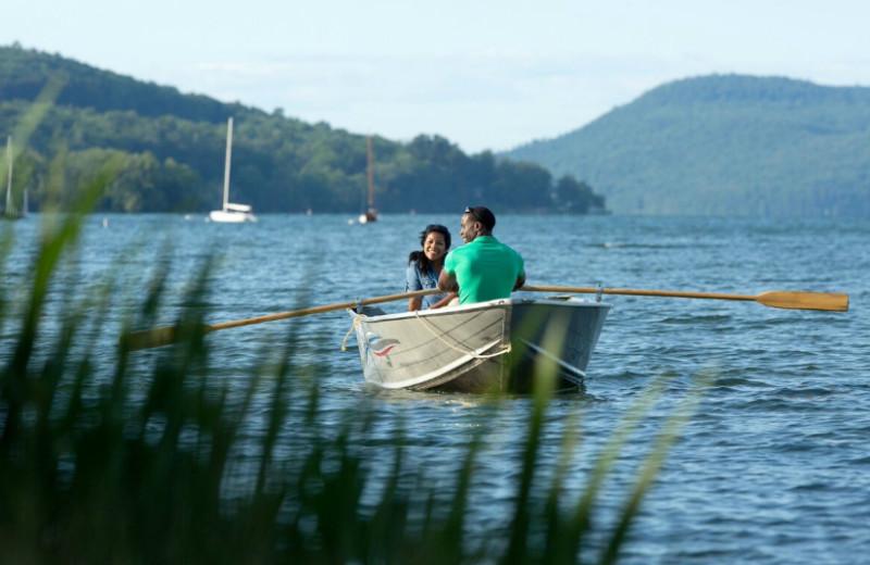 Boating at The Otesaga Resort Hotel.