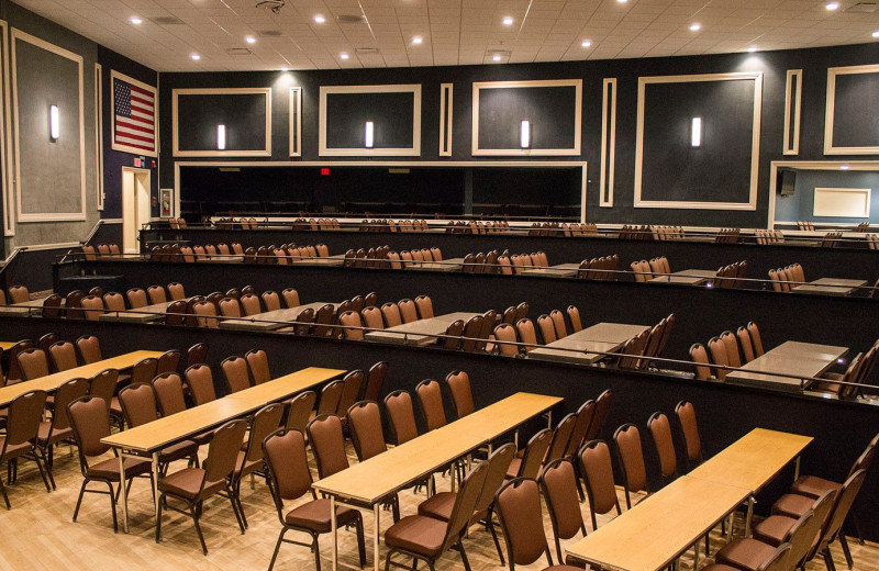 Meeting room at Woodloch Resort.