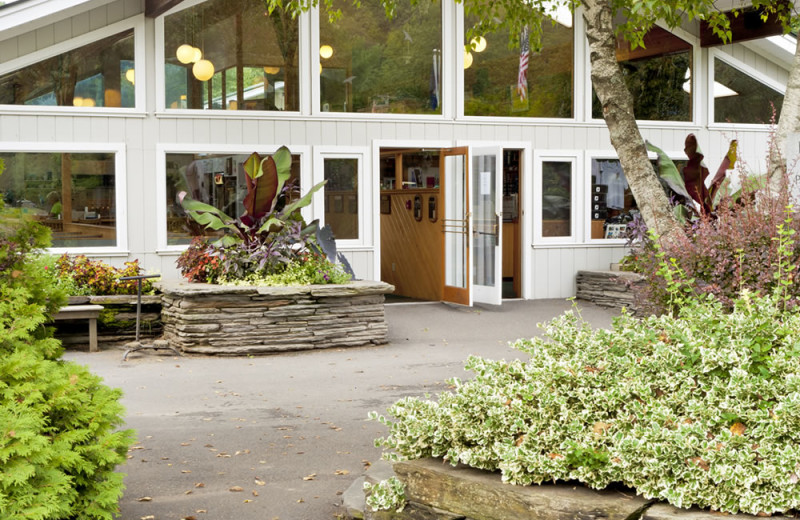 Club exterior at Lake Morey Resort.
