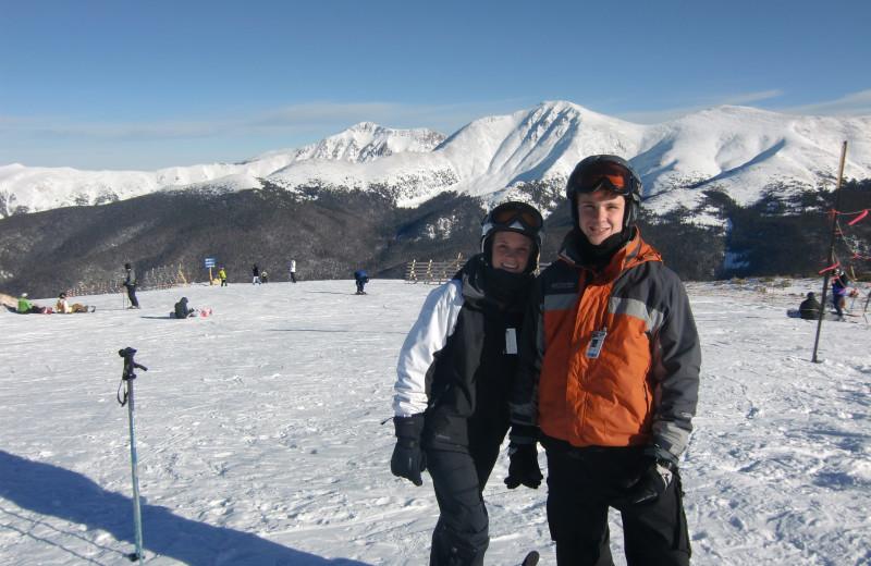 Skiing at Access Winter Park Lodging.