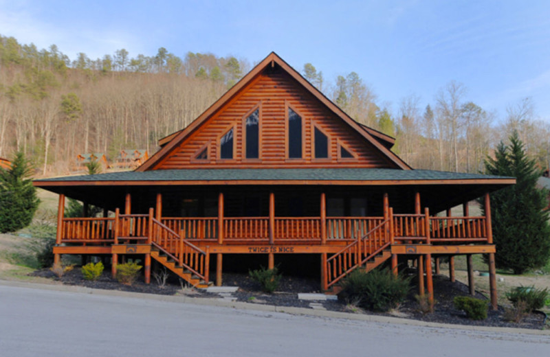 Pigeon Forge Vacation Rentals Cabin Twice Is Nice At Fireside