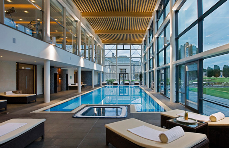 Indoor pool at Castlemartyr.