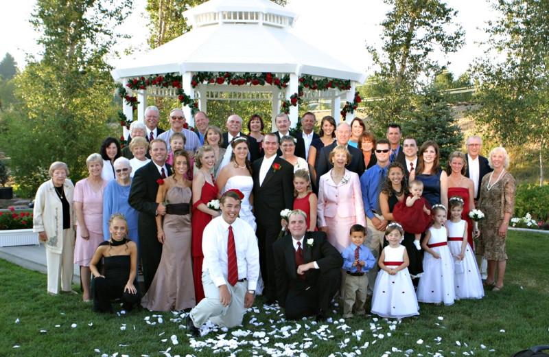 Wedding party at The Ashley Inn.