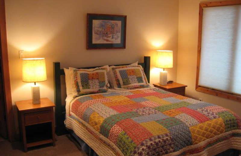Guest bedroom at Park City Lodging.