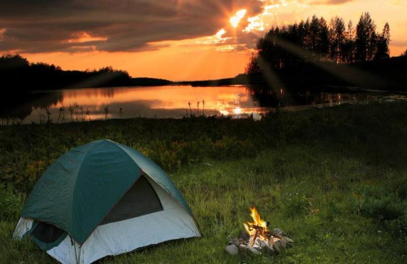 Camping at Long John's Resort & RV Park.