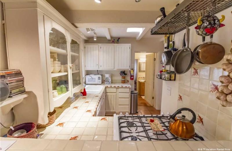 Rental kitchen t Vacation Rental Pros - Santa Fe.