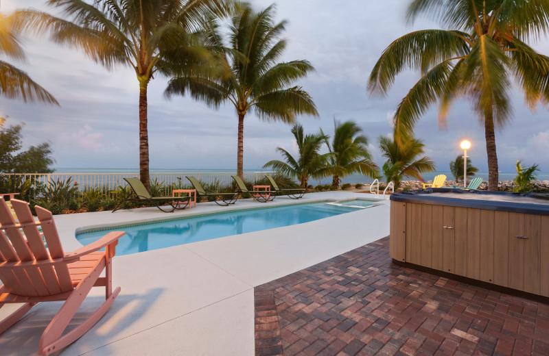 Rental outdoor pool at Florida Keys Vacations Inc.