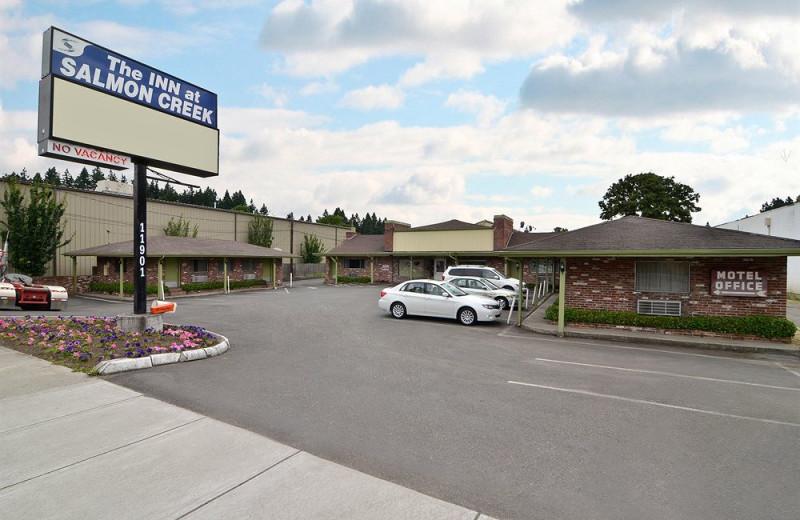 Exterior view of Salmon Creek Motel.