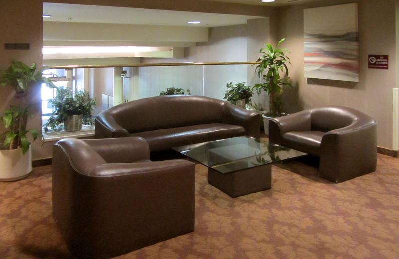 Sitting area at Kawada Hotel.
