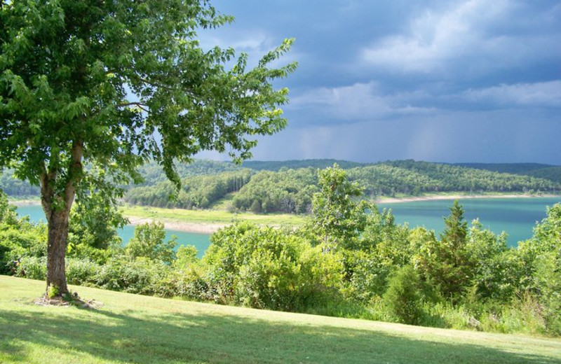 Beautiful Lake View at Ridgecrest Resort