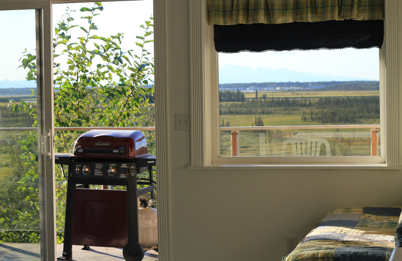 Guest room at Diamond M Ranch.